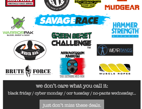 Black Friday/Cyber Monday Deals From Mud Run Guide
