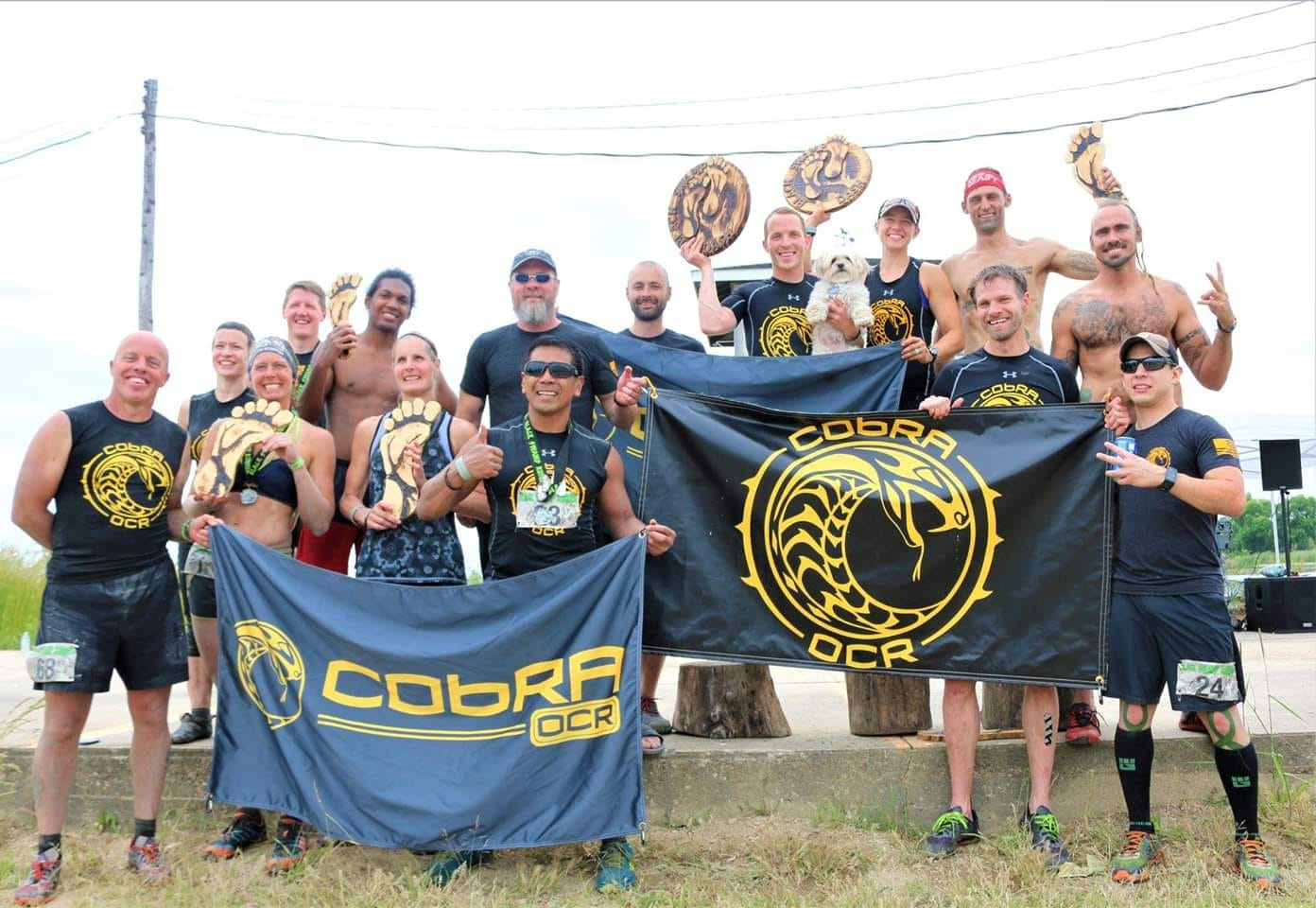 cf1327b46 Cleveland Obstacle Racing Alliance (CObRA) at one of Ohio's favorite races,  Black Swamp Runner.